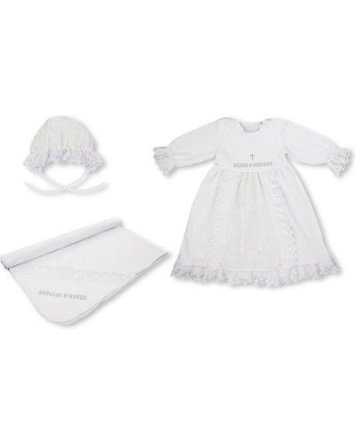 Платье хлопковое с вышивкой лео