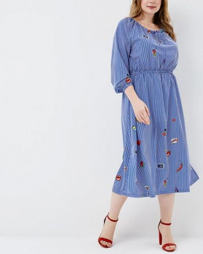 Платье синее Matilda