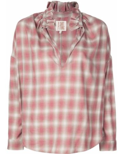 Рубашка с воротником A Shirt Thing