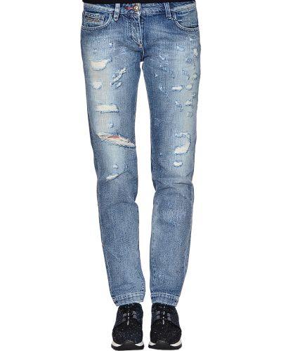 Синие хлопковые джинсы Philipp Plein