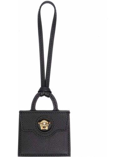 Кожаная сумка - черная Versace