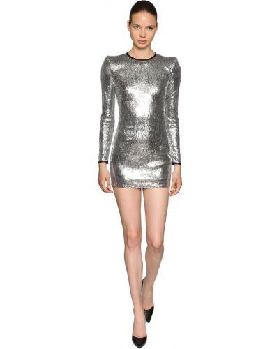 Платье с пайетками на молнии Dsquared2