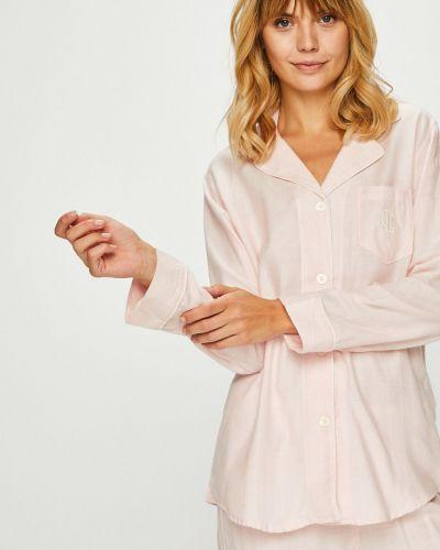 Пижама на пуговицах однотонная Lauren Ralph Lauren