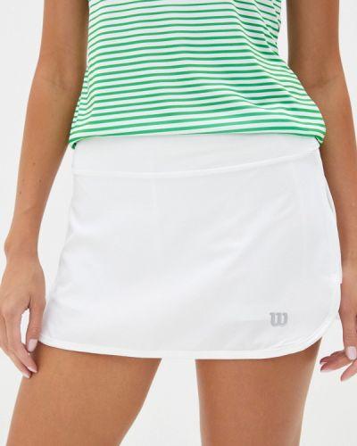 Белая юбка-шорты Wilson
