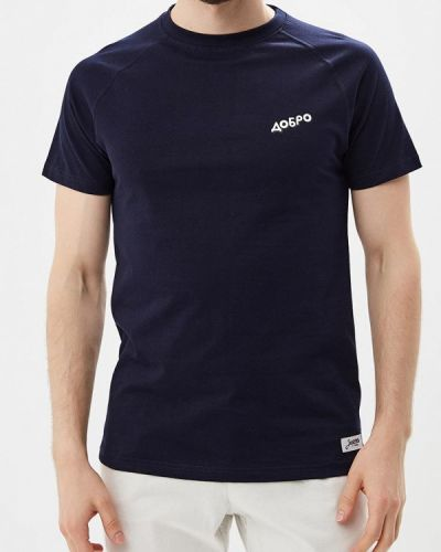 Синяя футболка Запорожец Heritage