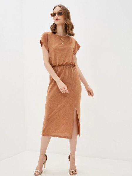 Платье - коричневое Mark Formelle
