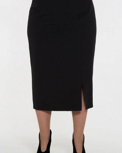 Черная юбка осенняя Intikoma