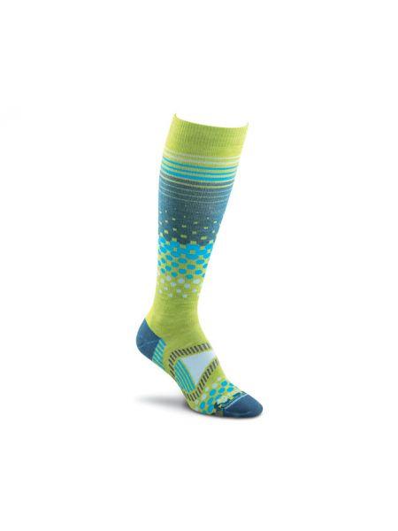Шерстяные носки - зеленые Foxriver