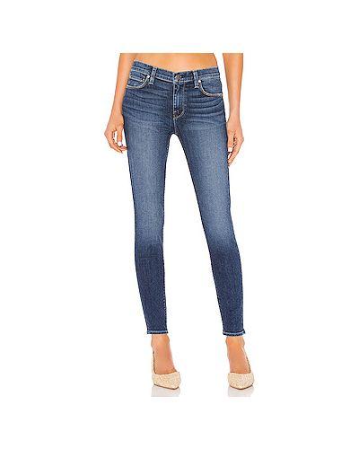 Джинсы-скинни mom на пуговицах Hudson Jeans