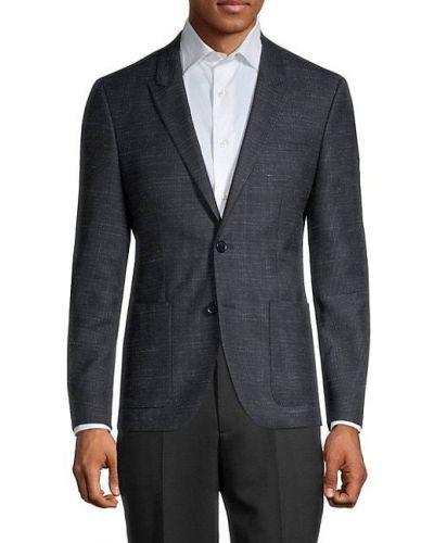 Długa kurtka wełniana z długimi rękawami Hugo Hugo Boss