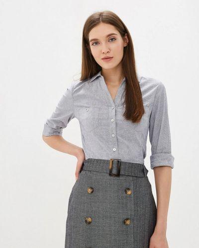 Блузка с длинным рукавом синяя весенний Vittoria Vicci