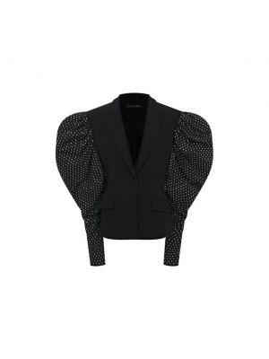 Шелковый пиджак - черный David Koma