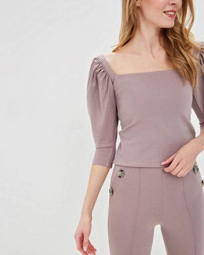 Блузка с длинным рукавом весенний бежевый Imocean
