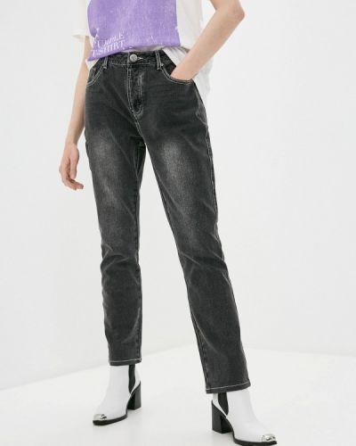 Прямые серые джинсы One Teaspoon