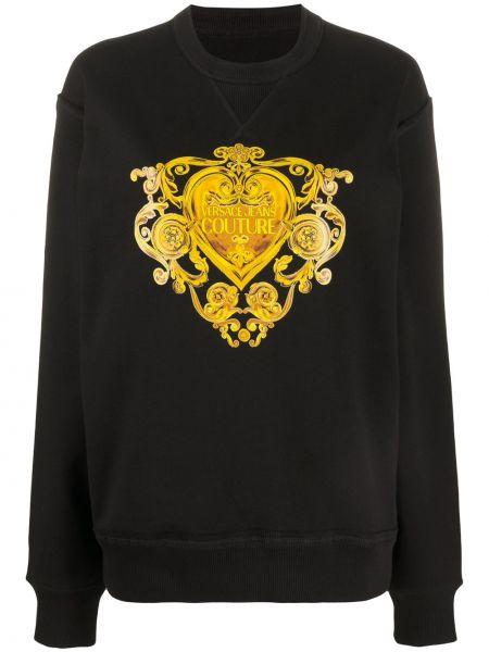 Jeansy długo czarne Versace Jeans Couture