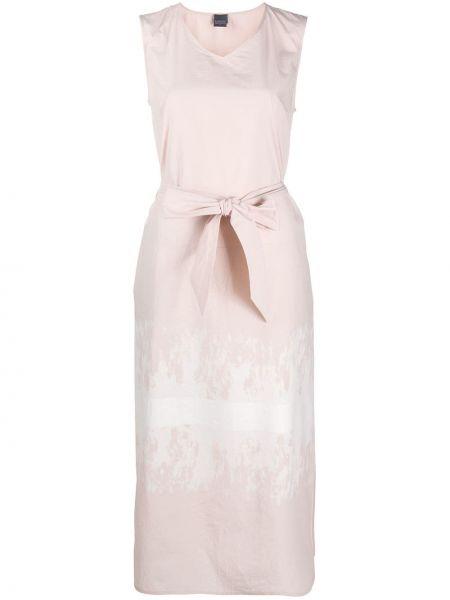 Платье миди с V-образным вырезом с поясом Lorena Antoniazzi