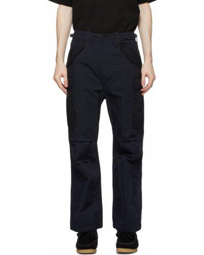 Spodnie z paskiem bawełniane Nanamica