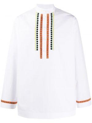 Koszula z długim rękawem prosto długa Valentino