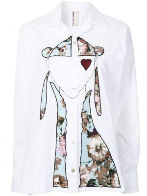 Длинная рубашка - белая Antonio Marras