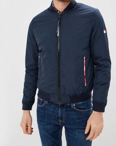Синяя куртка легкая Tommy Hilfiger