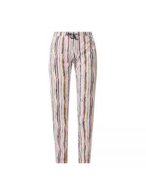 Spodni piżama bawełniana krótki rękaw w paski Lascana