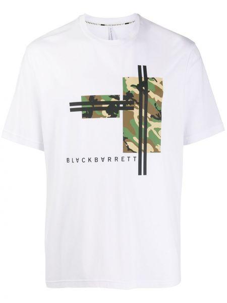 Koszula krótkie z krótkim rękawem z logo wojskowy Blackbarrett