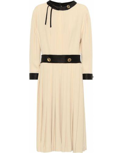 Платье с вышивкой винтажная Prada