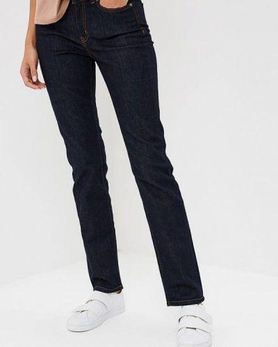 Синие прямые джинсы Rifle
