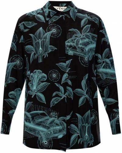 Koszula elegancka - czarna Givenchy