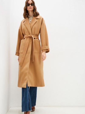 Коричневое зимнее пальто Fresh Cotton