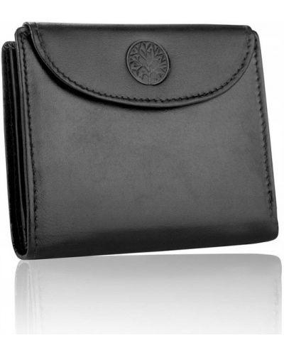Кожаный кошелек - черный Betlewski