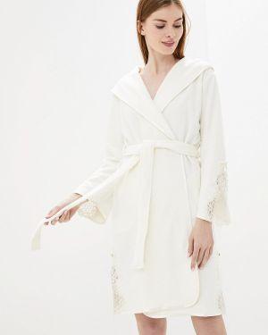 Халат махровый белый Nusa
