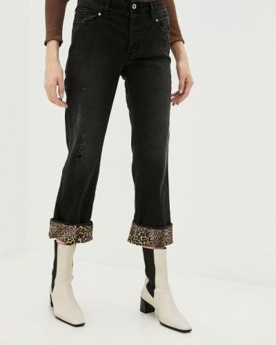 Прямые черные джинсы Please