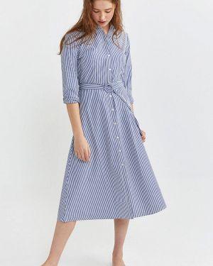 Платье платье-рубашка весеннее Springfield