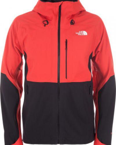 Куртка с капюшоном спортивная льняная из полиэстера The North Face