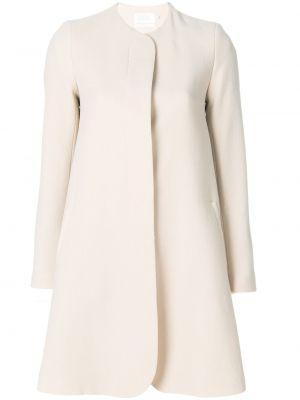 Шерстяное пальто с капюшоном Goat