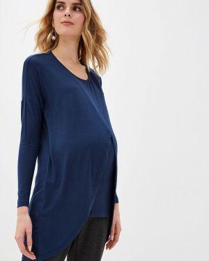 Туника синий для беременных Mama.licious