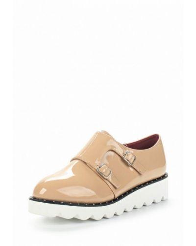 Бежевые кожаные ботинки Vivian Royal