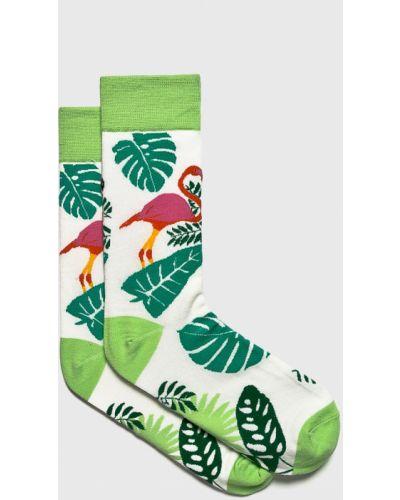 Хлопковые носки - зеленые Fulloff