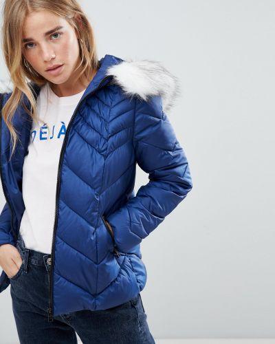 Синяя дутая куртка Urban Bliss