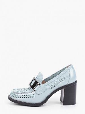 Голубые кожаные туфли Graciana