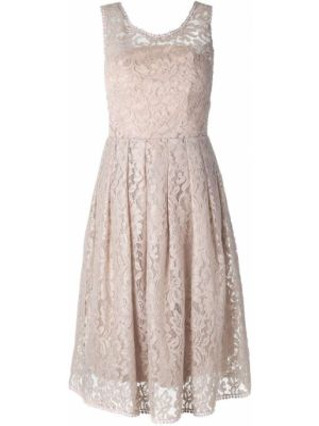 Ажурное платье без рукавов с вырезом из вискозы Martha Medeiros