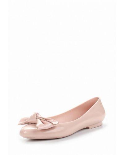 Розовые балетки Melissa