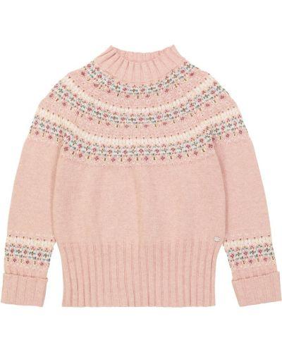 Кашемировый свитер - розовый Tartine Et Chocolat