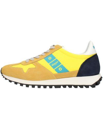Trampki - żółte Blauer
