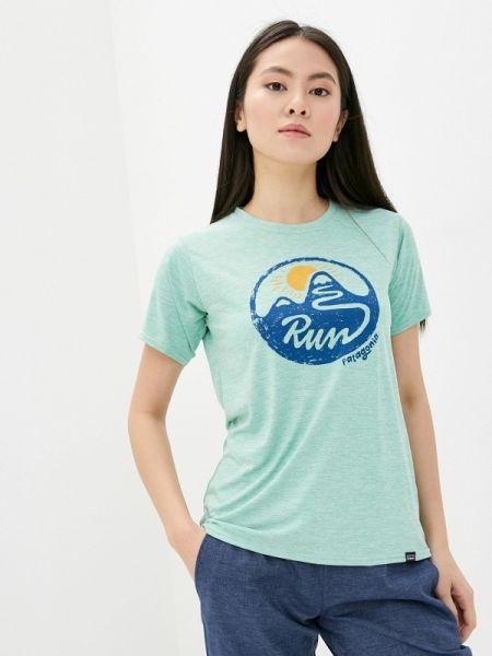 Бирюзовая рубашка Patagonia