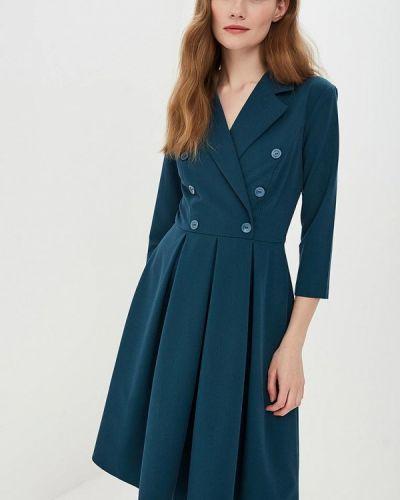 Платье платье-пиджак зеленый Vittoria Vicci
