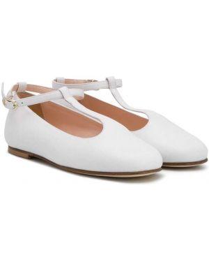 Белые балетки Prosperine Kids