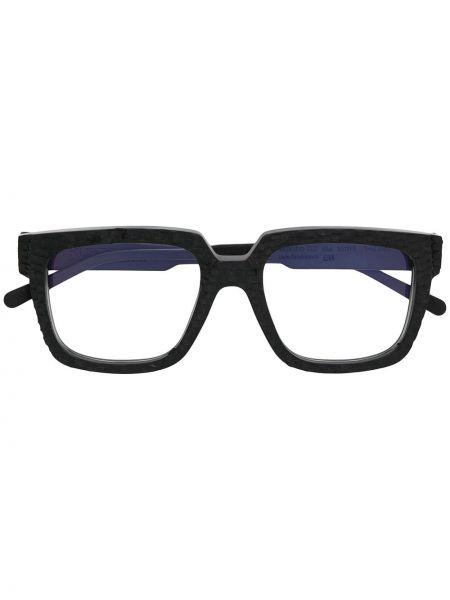 Czarny prosto oprawka do okularów plac Kuboraum