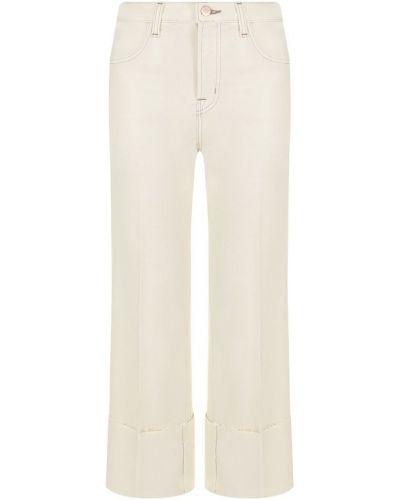Укороченные джинсы с подворотами однотонные J Brand